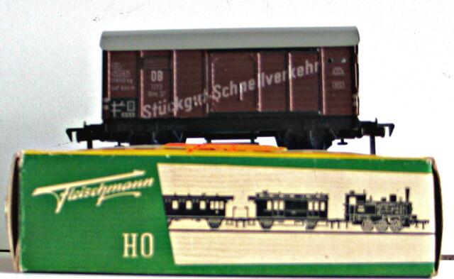 Fleischmann Wagon Couvert   Stuckgutschnelverkehr   Ref:1213  1950s  Livraison