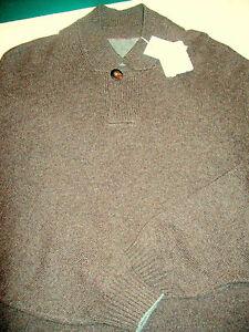 Brunello-Cucinelli-Cashmere-Button-Collar-Sweater-NWT-XL-Euro-56-US-46-1795