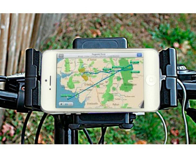 Bike Charger with stand holder for Phones GPS Mp3 Mp4 Cycling Dynamo Generator