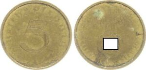 Third Reich 5 Pfennig 1937 A Lack Coinage Minting Weakness