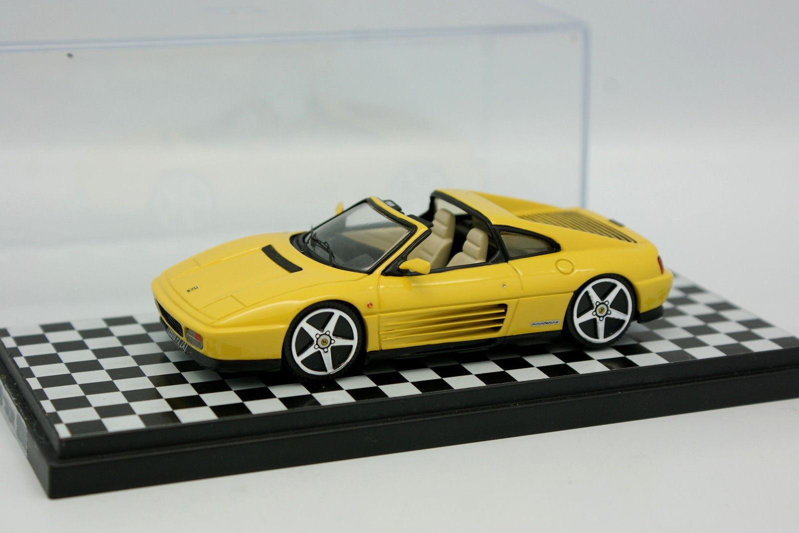 Base BBR Kit Monté 1 43 - Ferrari 348 TS Jaune