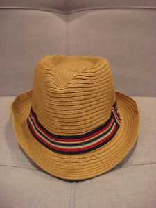 0c73091fc1524 Image is loading VINTAGE-STONE-HAT-FEDORA-SIZE-SMALL-MEDIUM-BRAND-