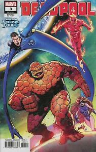 Deadpool Vol 6 #3 Cover B Variant Rob Liefeld Return Of The Fantastic Four Cove