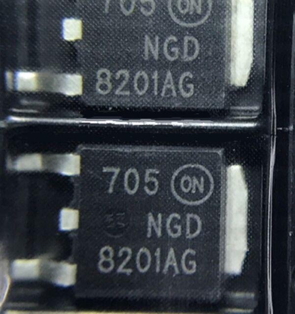 10PCS NGD8201AG TO-252