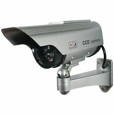NEW Sunforce 82340 Solar Decoy Security Camera c/w Solar Panel & Red LED Light