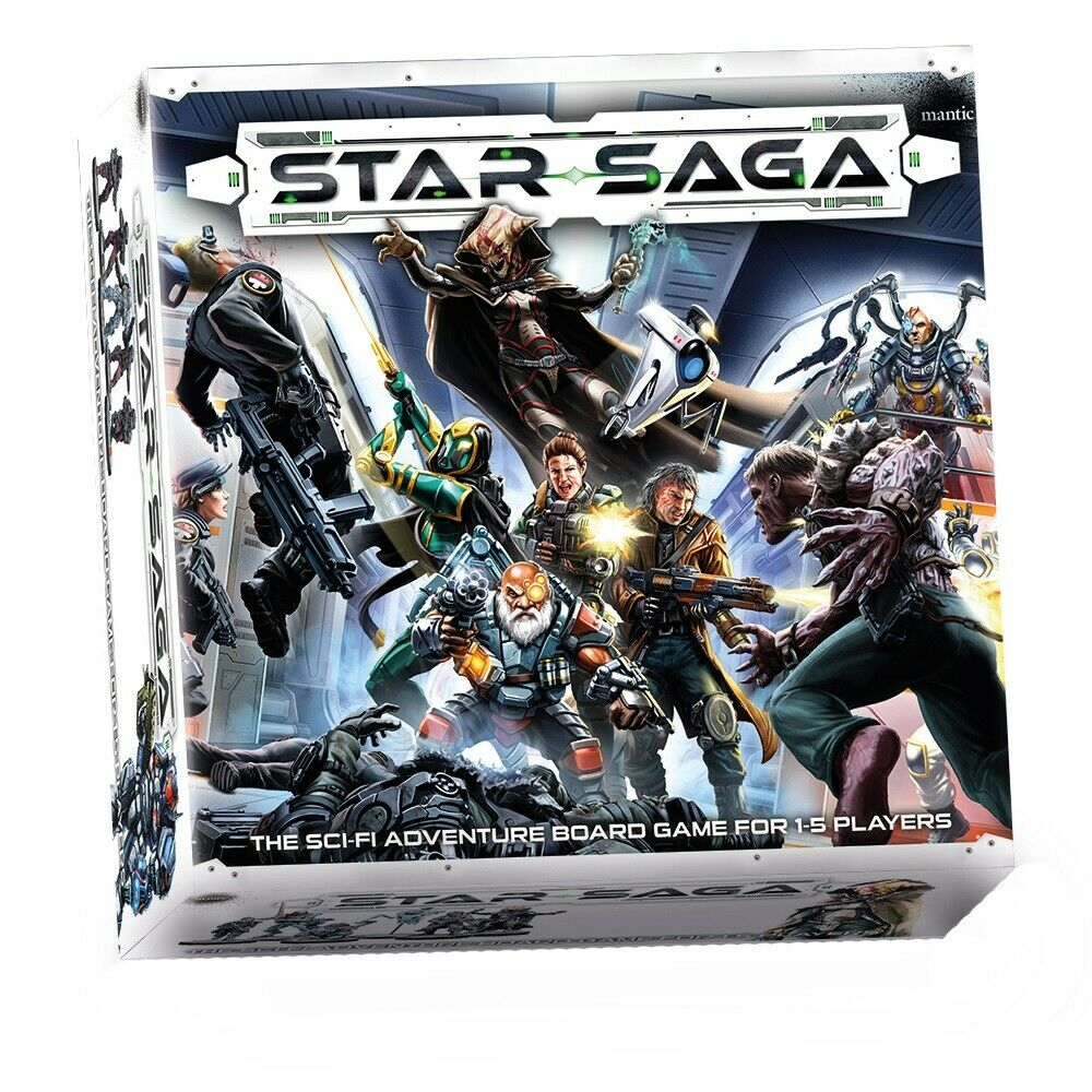 STAR SAGA  The Eiras  contrat Sci-Fi Dungeon Crawl Board Game par Mantic MGSS 101  les clients d'abord