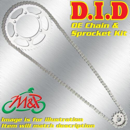 Derbi Senda 50 R 1997 Genuine OE DID Chain and Sprocket Kit