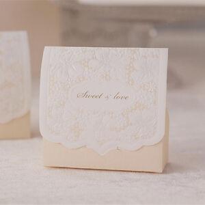 Wedding Gift Boxes Uk : ... Wedding Engagement Anniversary Party Cake Favour Gift Box Boxes eBay