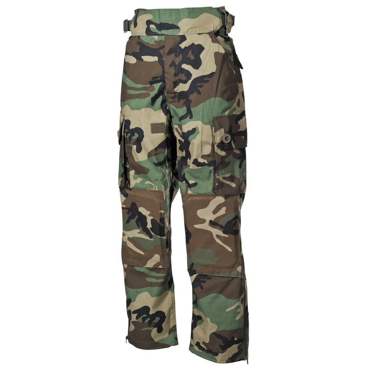 High Quality Tactical Battle Trousers - Comandos - Military Pants - Woodland