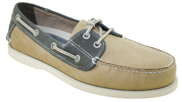 cc51890dc9 DOCKERS Mens Vargas Boat Shoe Stone/washed Navy 9 M US for sale ...