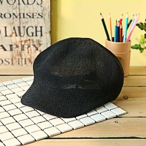 Ladies Summer Straw Sun Cap Knit Breathable Hats Fashion Leisure Visor For Women