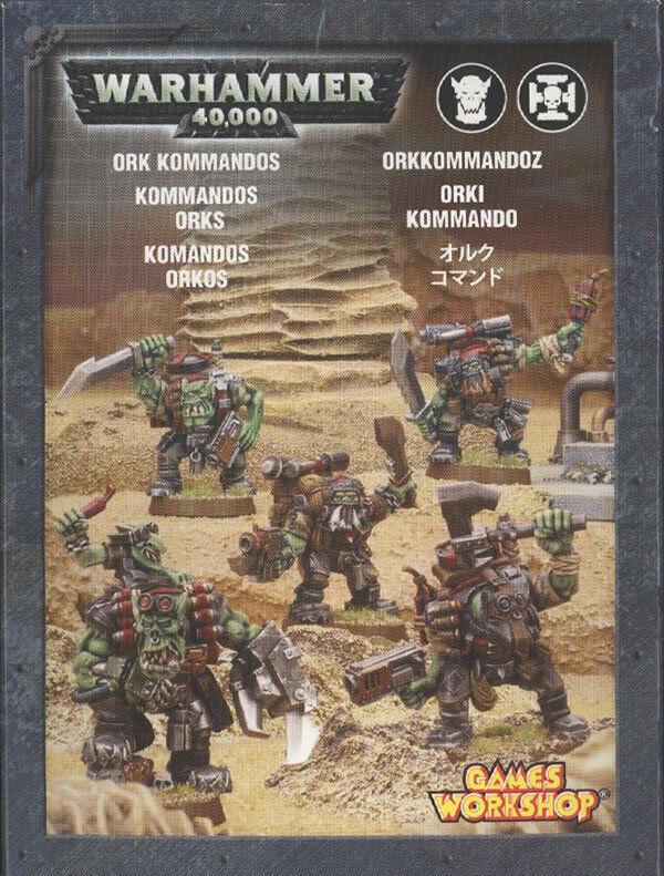 Games Workshop Warhammer 40k Ork Kommandos Squad BNIB Metal Figures Orks Army