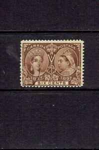 CANADA-1897-SIX-CENT-QUEEN-VICTORIA-JUBILEE-SCOTT-55-USED