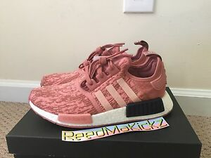2ad1a85f6 Image is loading Adidas-NMD-R1-Raw-Pink-Salmon-Womens-sizes-