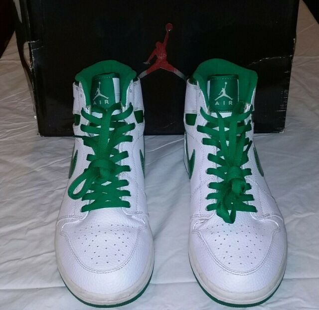 look good shoes sale vast selection how to buy Nike Air Jordan 1 Do The Right Thing Sea Green Metallic Size 11 Used 2009