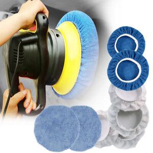 8Pcs-Car-Polisher-Bonnets-Polishing-Pad-Buffer-9-10-inches-Waxing-Wash-Pads-LO