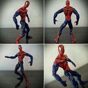 RARE-Toy-Biz-Spider-Man-Classic-Clashes-vs-Venom-Action-Figure-Marvel-2002