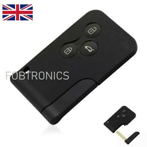 FOR-Renault-Megane-Scenic-3-button-Key-Card-Shell-Case-Blade-A84