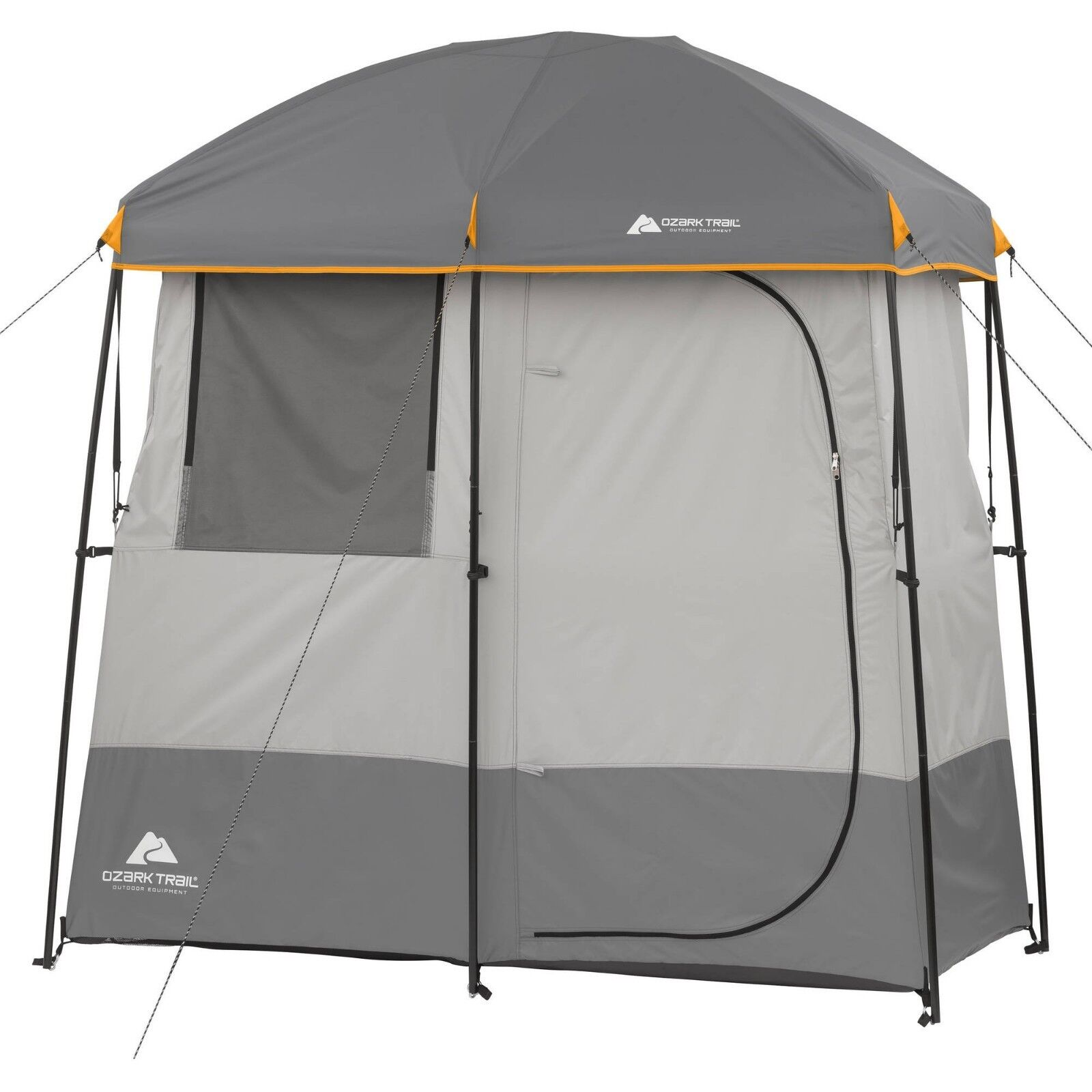c34cf5526f746 Solar Heated Shower Toilet Tent 2-Room Instant Camping Cabin Hiking Ozark  Trail ovbmwr7686-Tents