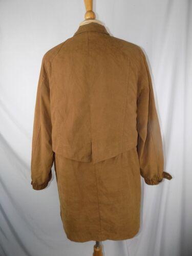 Nylon Brown Winter Polyester Zip Medium Gallery Liner Women's Coat xABgwqWpUF
