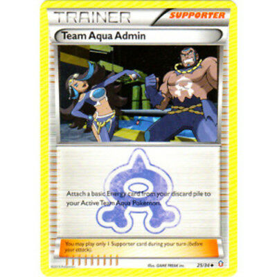 Pokemon XY Double Crisis Team Aqua/'s Sealeo 4//34 Mint Card