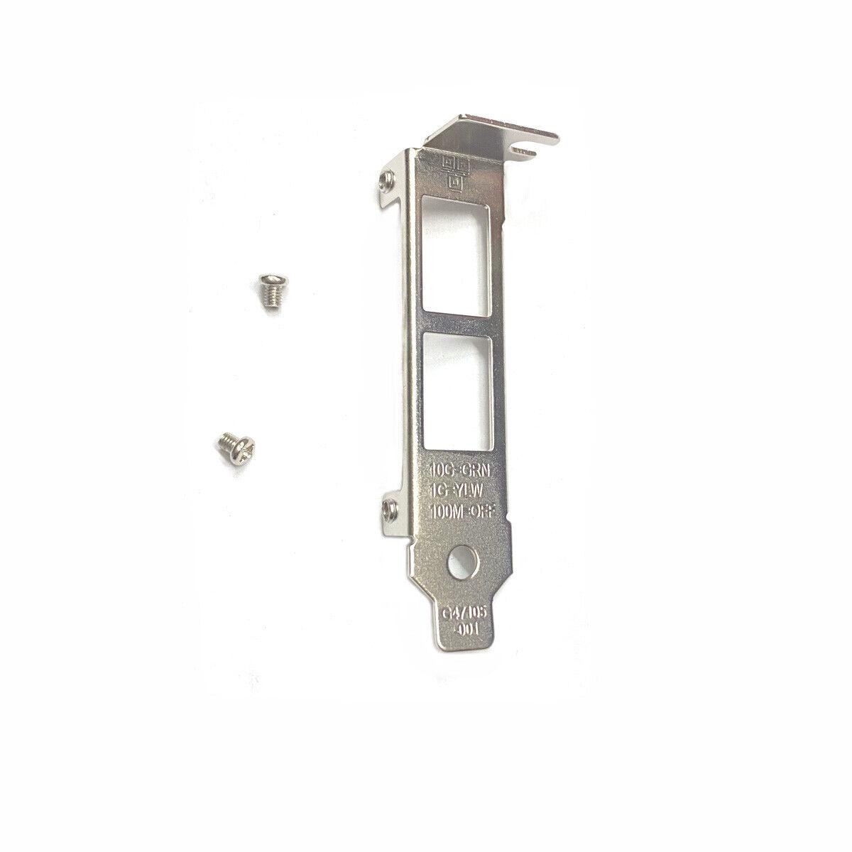 Low Profile Bracket for Intel X540-T2 X550-T2 HP 561T 716591-B21 717708-001