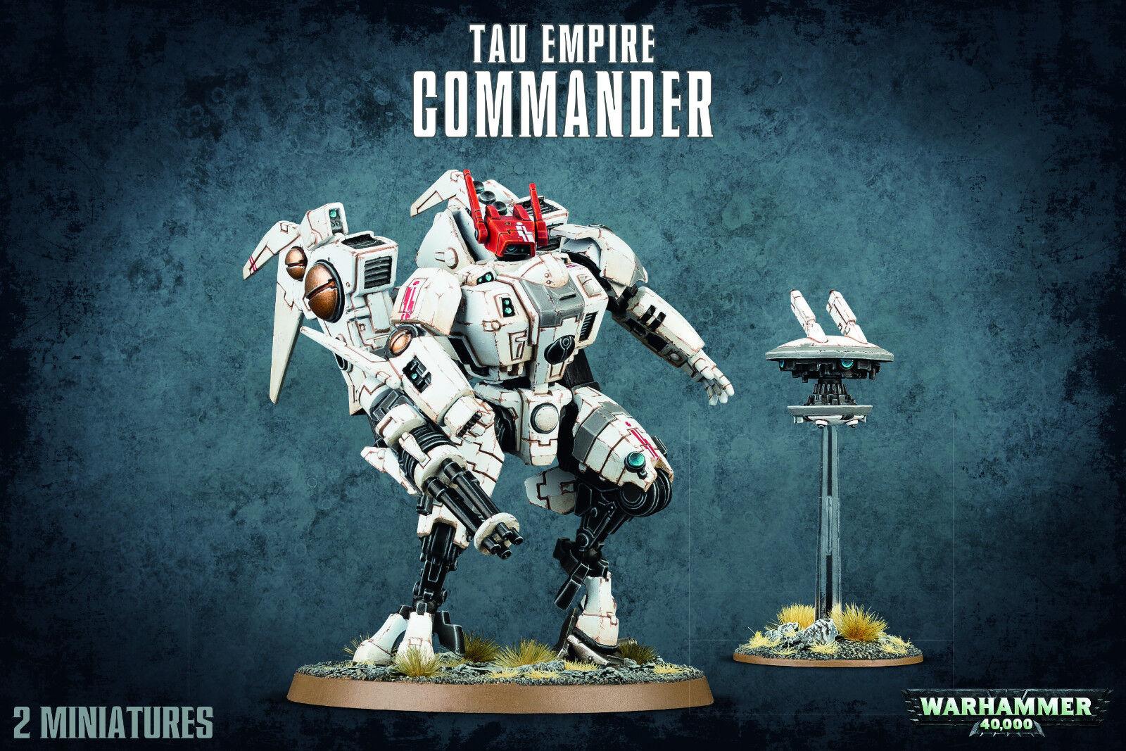 T'au Empire Commander Tau Warhammer 40k NEW
