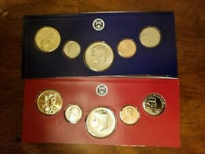 2019-P-D-Partial-Mint-Set-Sac-Kennedy-Roosevelt-Jefferson-Lincoln-10-US-Coins