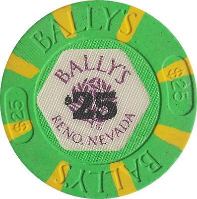 1991 Play Ballys Hotel Casino Reno Nevada Postcard