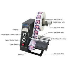 110v Label Dispenser Adjustable Speed Automatic Label Dispenser Digital Control