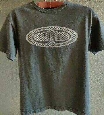 """SRH Men/'s T-Shirt /""""White@black skull-face/"""" -Size M"""