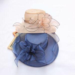 CW-Lady-Wide-Brim-Flower-Sun-Hat-Women-Wedding-Tea-Party-Church-Travel-Cap