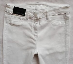 utterly stylish detailed look new style Details about BNWT NEXT new Ladies white denim leggings jeggings super  skinny jeans R & L