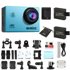 WiMiUS 4K FHD Sport Action Camera 1080P 16MP WIFI Waterporoof Cam Camcorder Q1