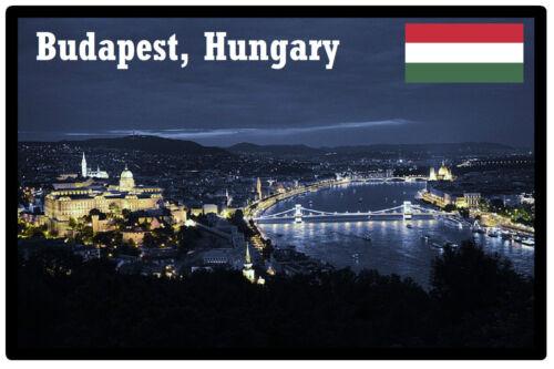 Ungarn Sehenswürdigkeiten // Budapest Souvenir Neuheit Kühlschrank-magnet