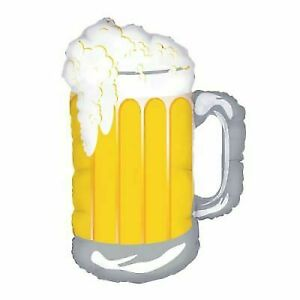 34 Foil Frosty Beer Mug Balloon