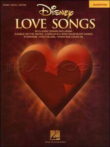 Acheter Pas Cher Disney Love Songs Piano Vocal Guitare 3rd Edition Music Book MÊme Jour ExpÉdition-afficher Le Titre D'origine