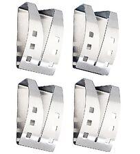 4x selbstklebende Handtuchhalter Handtuch-Halter Edelstahl Handtuchhaken Halter