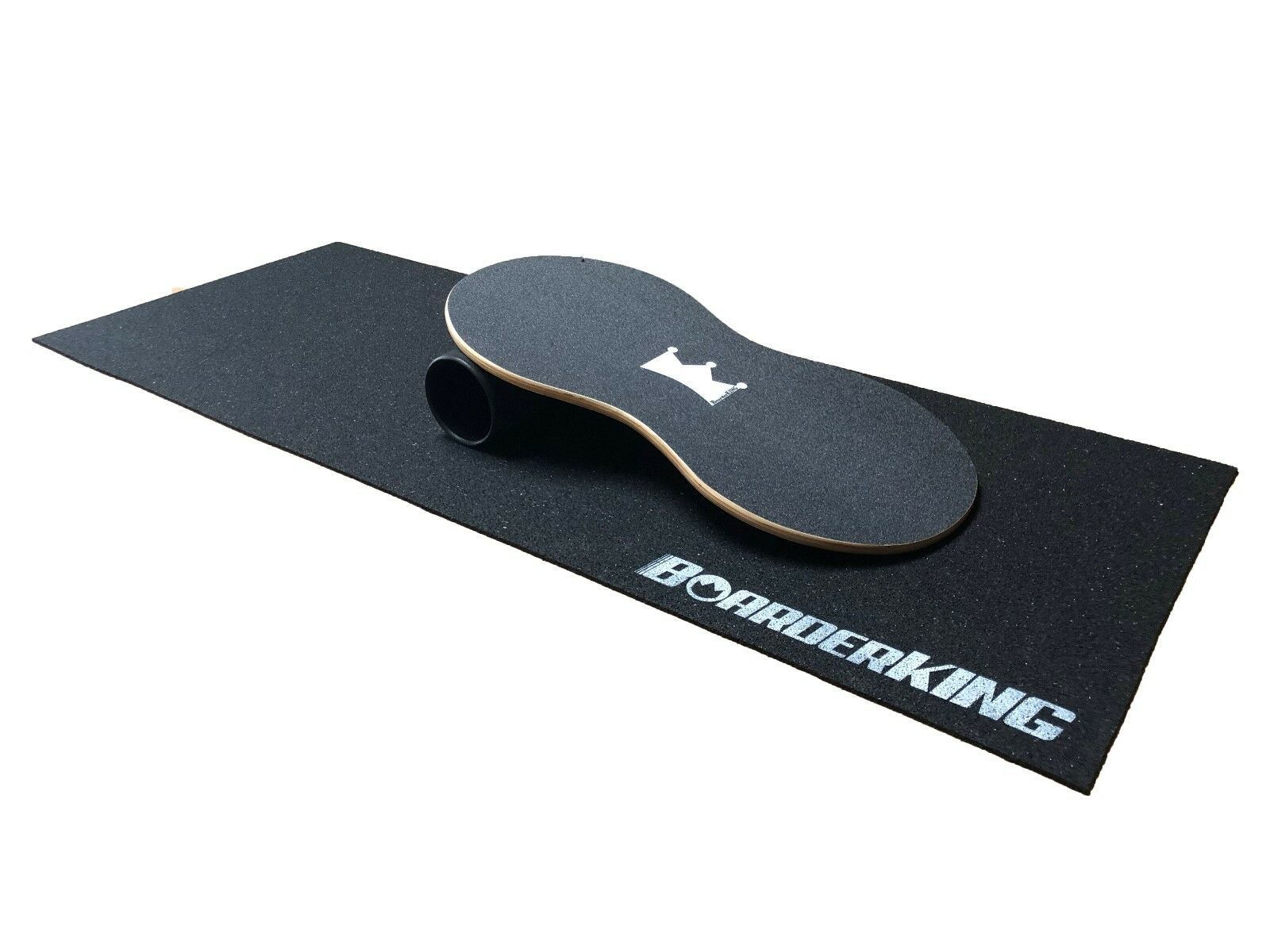 Boarderking indoorboard Physio Set incl. rôle et Tapis balance board