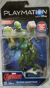 DISNEY-PLAYMATION-MARVEL-AVENGERS-VILLAIN-SUPER-ADAPTOID-SMART-ACTION-FIGURE