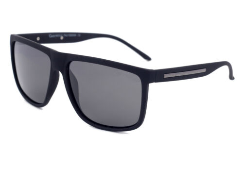 Grey Wolf POLARISED Driving Square Sunglasses for Men`s Light Grey Lenses UV400