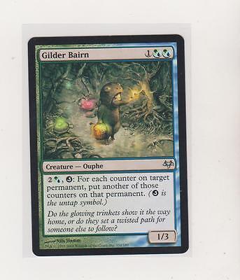 GILDER BAIRN Eventide MTG Blue//Green Creature — Ouphe Unc