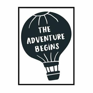 The-Adventure-Begins-Minimalist-Framed-Travel-Poster-Minimal-Typography
