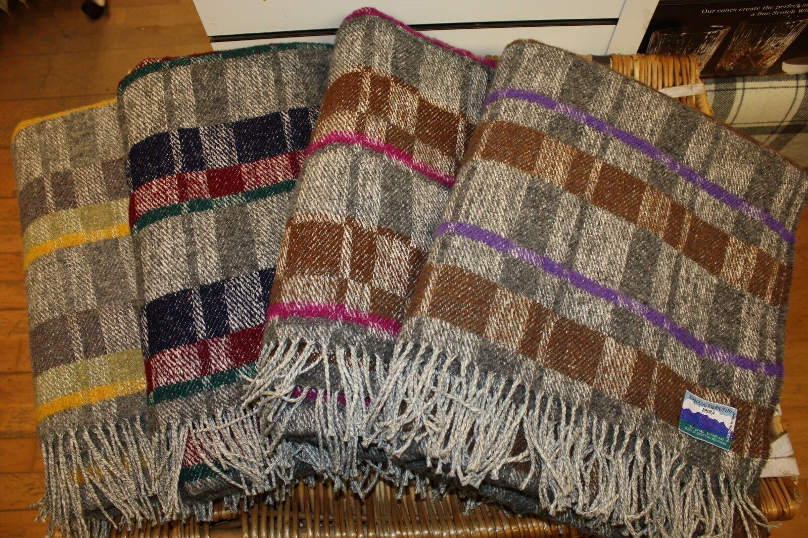 50% Wool 50% Cotton Throws