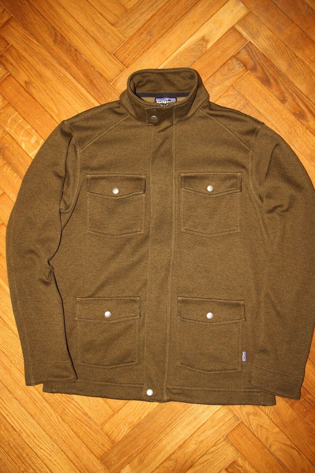herren Patagonia fleece jacke with pockets Größe M