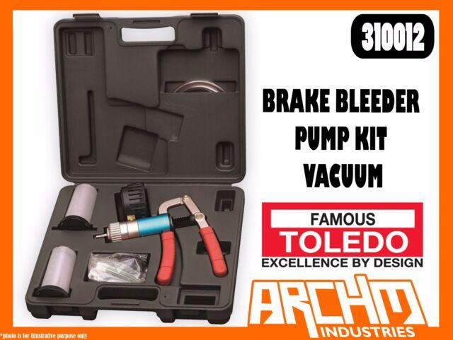 TOLEDO Brake Bleeder Pump Kit Vacuum 310012