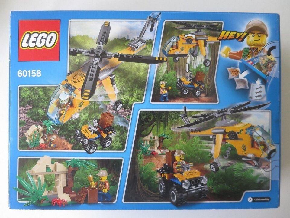 Lego City, 60158 . Junglefragthelikopter