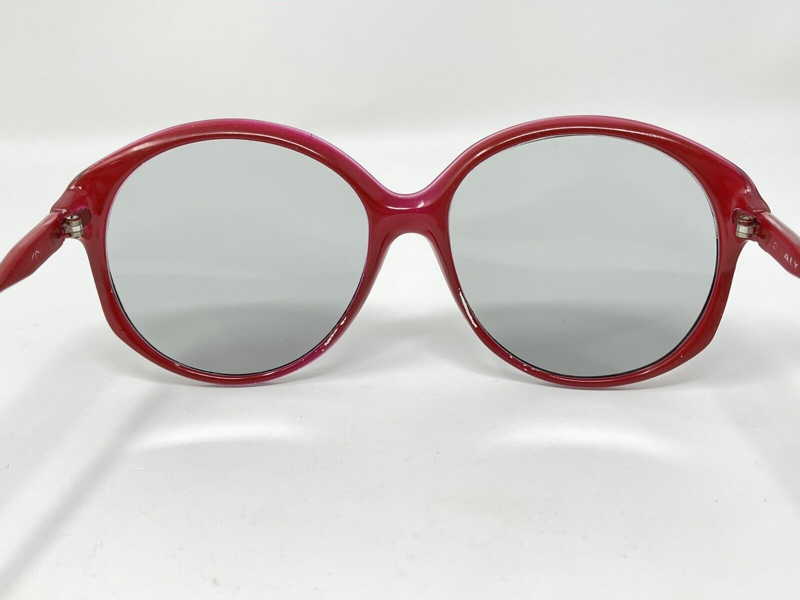 vintage Sunglasses Big Photocromatic Red SUNGLASS… - image 4