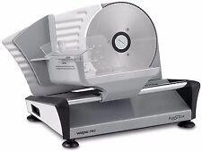 Waring Pro FS155 Professional Electric Food Slicer Premium Coated Steel Aluminum