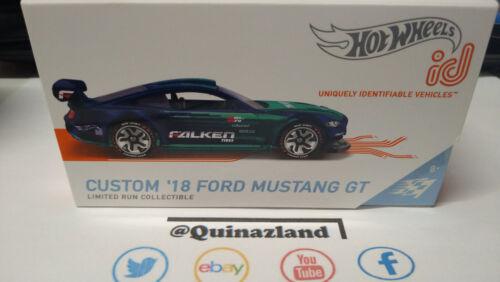 Hot Wheels ID Custom /'18 Ford Mustang GT NG77